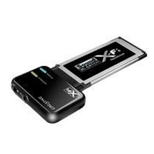 SONIDO CREATIVE SB X-FI XTREME NOTEBOOK XPRESS CARD 34MM (PARA PORTATIL)