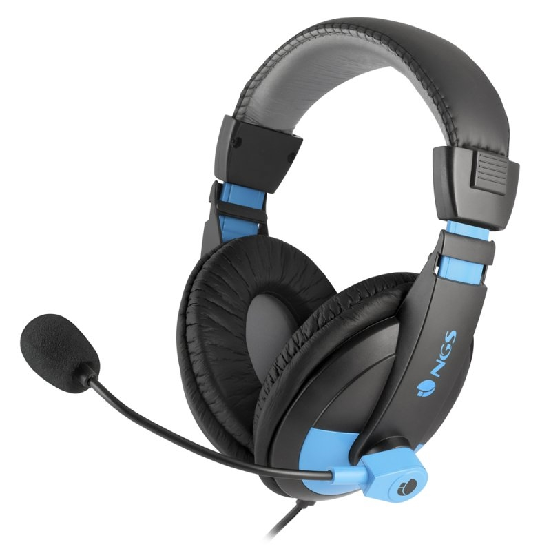 NGS Auricular+Mic MSX9PRO JACK3,5MM Azul