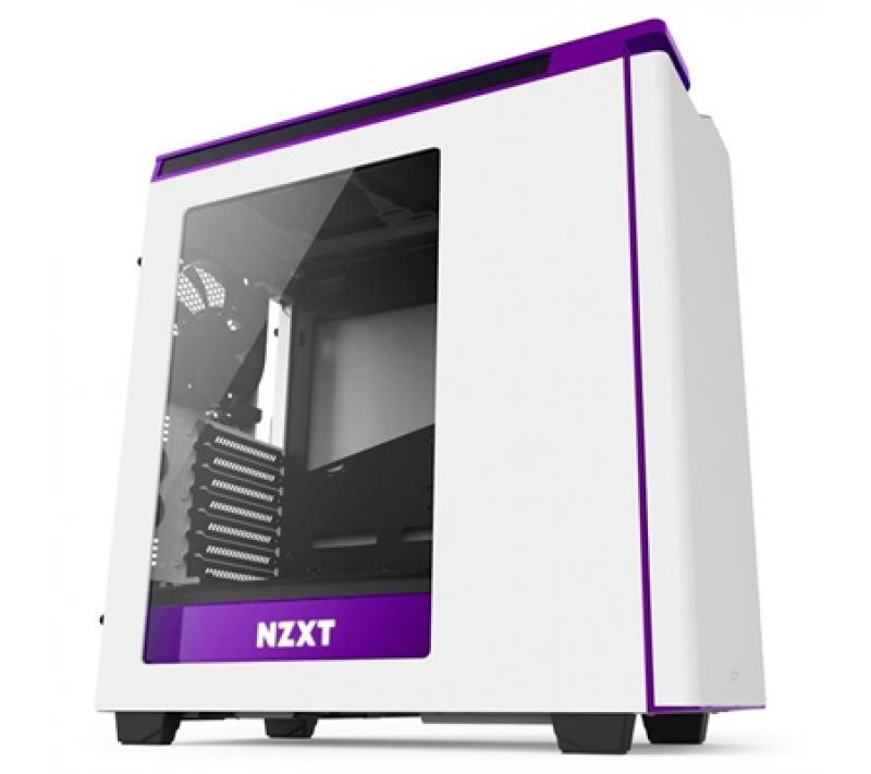 NZXT Caja SemiTorre H440 White/Purple New Edition