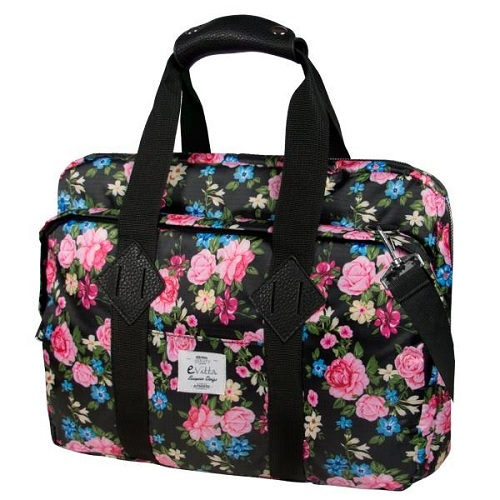 BOLSA PORTATIL  16 EVITTA MESSENGER LAPTOP BAG ROSES EVLB000466