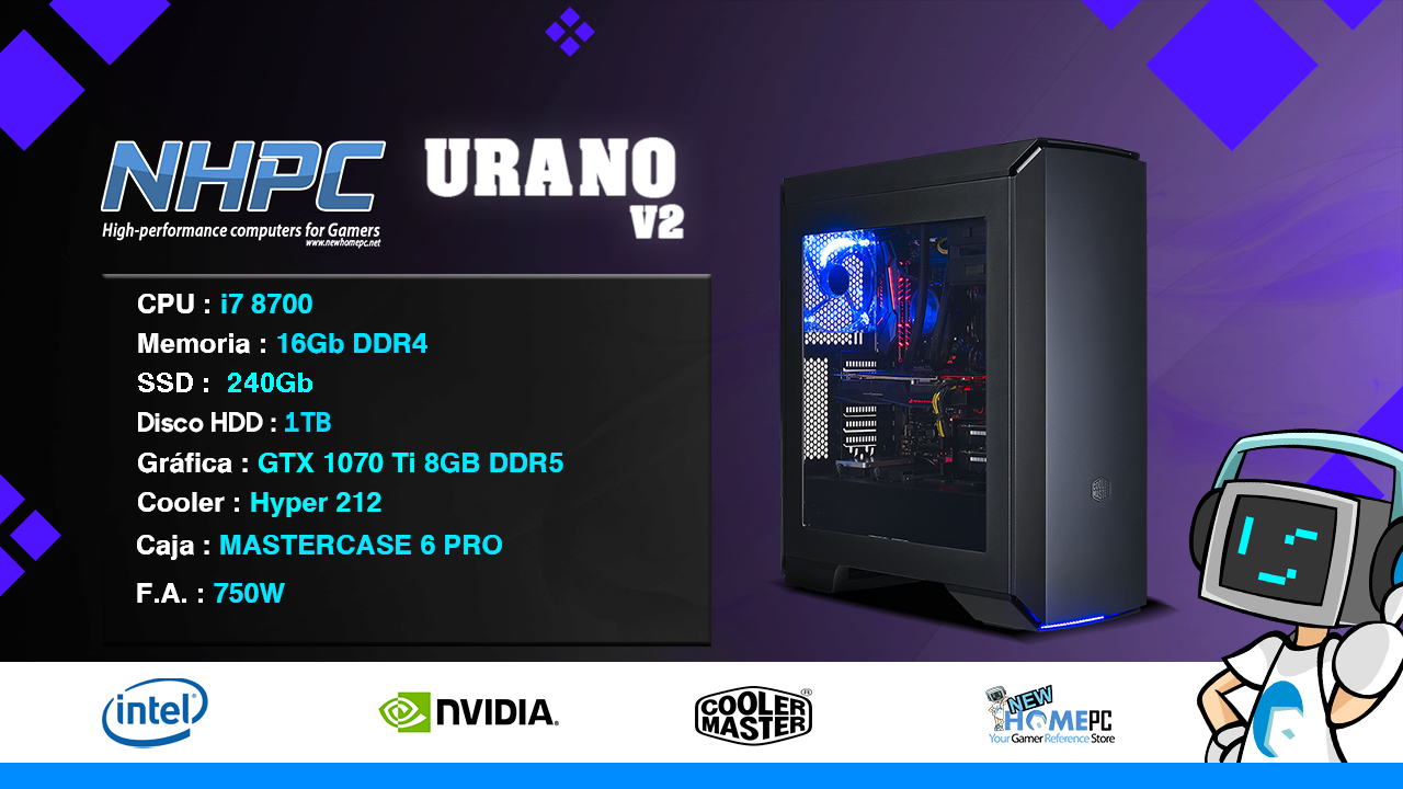 PC Gaming NHPC Urano V2