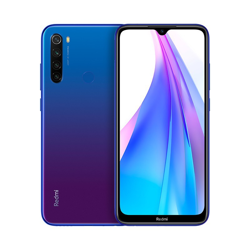 "XIAOMI Redmi Note 8T 6.3"" OC2GHz 128GB 4GB Azul"