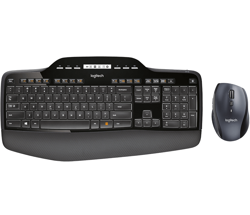 TECLADO LOGITECH WIRELESS DESKTOP MK710 UNIFYING