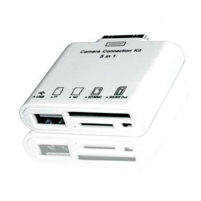 CARD READER FOR IPAD  APPROX APPCIRP LECTOR DE TARJETAS Y USB PARA IPAD