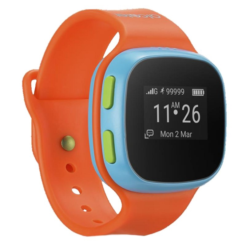 Alcatel MOVE TIME Track&Talk Watch Naranja / Azul