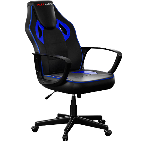 SILLA GAMER MARS GAMING MGC0BBL COLOR NEGRO/AZUL
