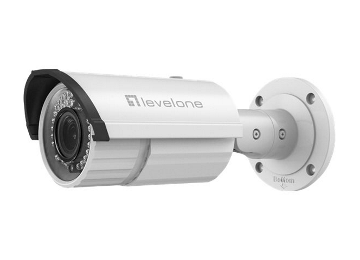 CAMARA IP LEVEL ONE NO WIFI 5 MEGAPIXEL WDR POE EXTERIOR ANTIVANDALICA  VARIFOCAL FCS-5068