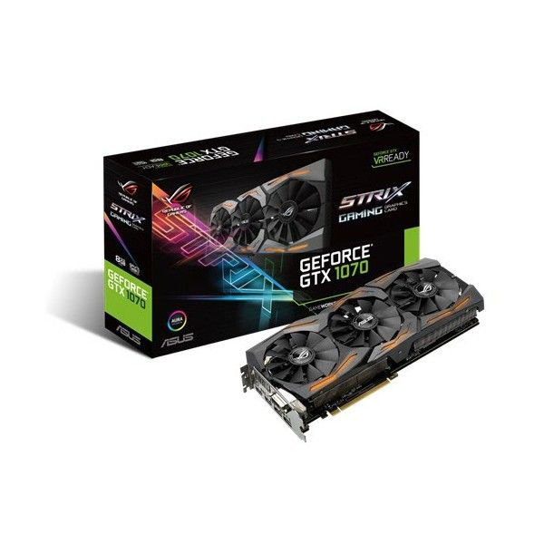 ASUS VGA NVIDIA STRIX GTX 1070-8G-GAMING 8GB DDR5