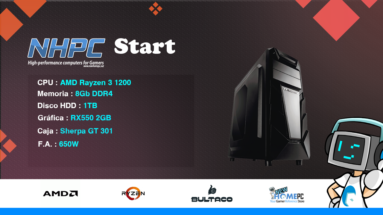 PC Gaming NHPC Start