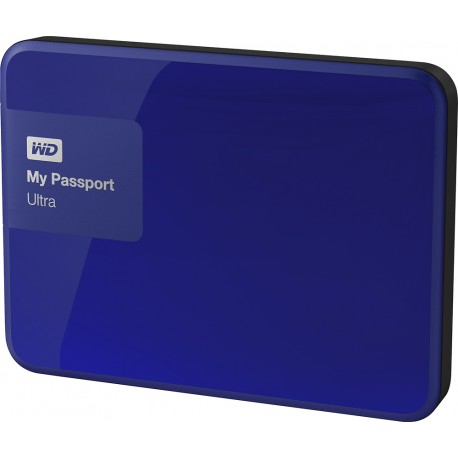 "HDD WD EXTERNO 2.5"" 2TB USB3.0 MY PASSPORT ULTRA AZUL"
