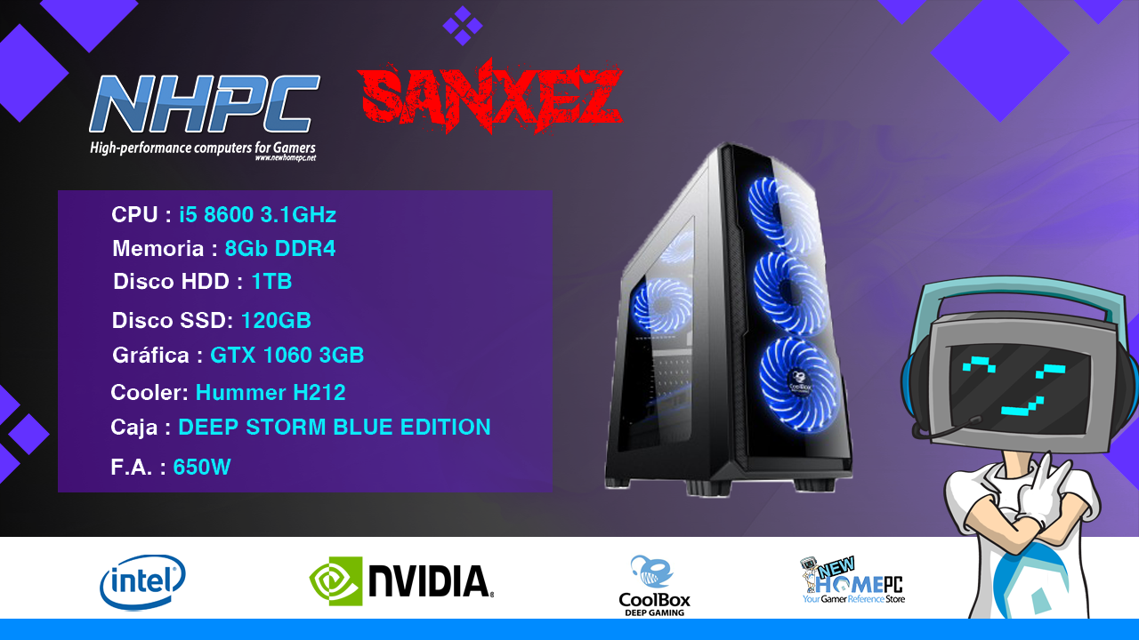 PC Gaming NHPC SanXeZ V2