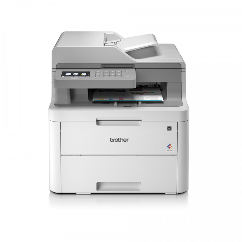 IMPRESORA BROTHER LASER COLOR DCPL3550CDW A4 WIFI (TN243/247)