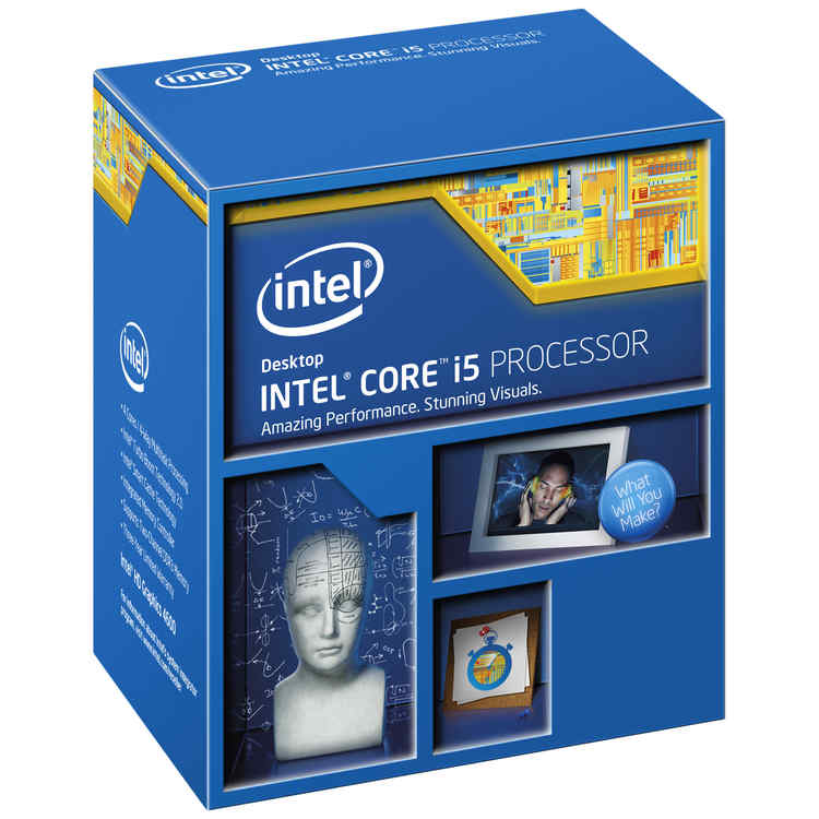 CPU INTEL Socket 1150 QUAD CORE i5 4460 3.2GHZ 6MB 84W BOX (CASH30 'CAJA EXTERIOR DETERIORADA')
