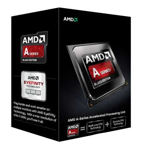 CPU AMD A10 - 7860K Socket FM2 QUAD CORE 3.6Ghz 2x2MB CACHE L2 - GPU RADEON R7