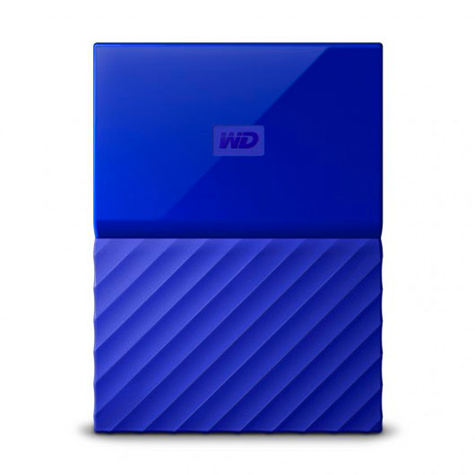 HD EXT USB3.0 2.5  3TB WD MY PASSPORT AZUL