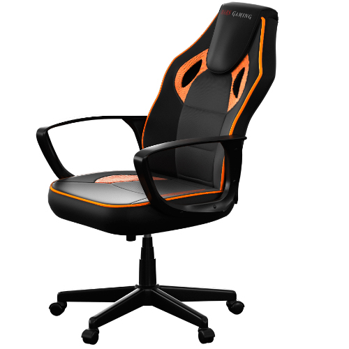 SILLA GAMER MARS GAMING MGC0BO  COLOR NEGRO/NARANJA