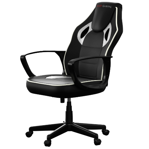 SILLA GAMER MARS GAMING MGC0BBL COLOR NEGRO/BLANCO
