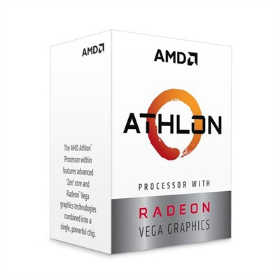 MICRO  AMD AM4 ATHLON 240GE 3.5GHZ 5MB BOX YD240GC6FBBOX