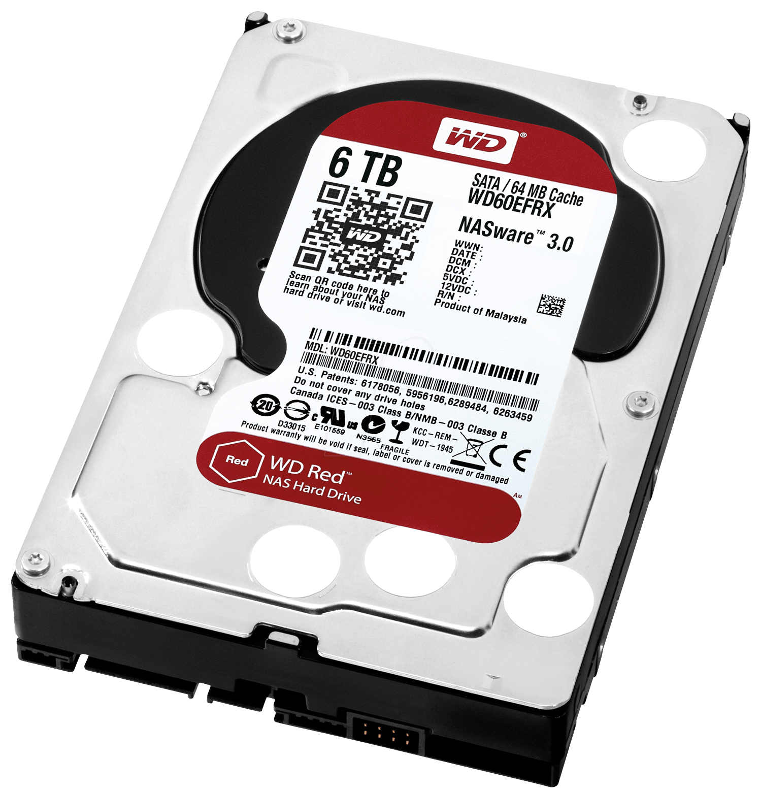 6TB RED 64MB                   INT