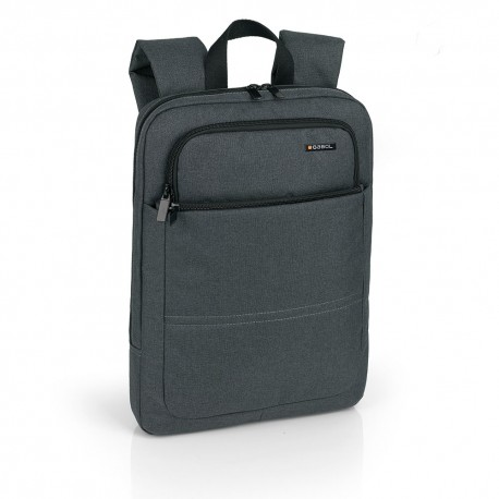 Gabol Mochila 15,6/ Tablet 10 Gris Batic