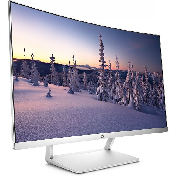 MONITOR CURVO HP - MULTIMEDIA - 27/68.5CM   COLOR PLATA/BLANCO