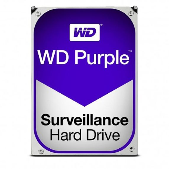 HD  SATA III 4TB  WESTERN DIGITAL PURPLE SURVEILLANCE 64MB CACHE WD40PURZ