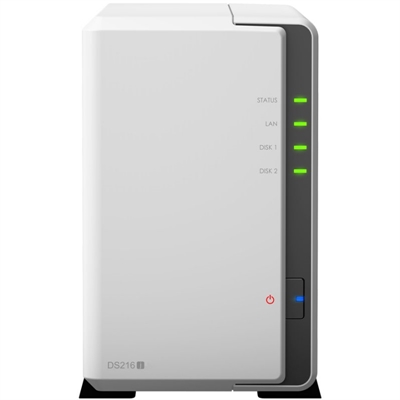 SYNOLOGY DS216j NAS 2Bay Disk Station