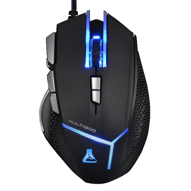 RATON OPTICO THE G-LAB KULT200 GAMING NEGRO