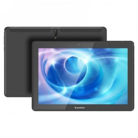 TABLET  PC  SUNSTECH  TAB1090BK P10.1IPS QC1.3 2GB 64GB BT 3G 8MP/2MP A9 BLACK