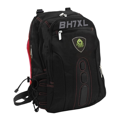 MOCHILA GAMING KEEP OUT BK7 XL PARA PORTATILES 17 CON MULTIPLES BOLSILLOS COLOR NEGRO-ROJO