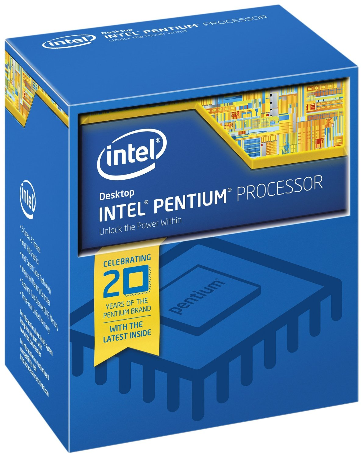 MICRO INTEL  PENTIUM D CORE G4520 3.6GHZ S1151 3MB IN BOX