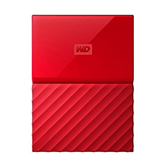 HD EXT USB3.0 2.5  1TB WD MY PASSPORT ROJO