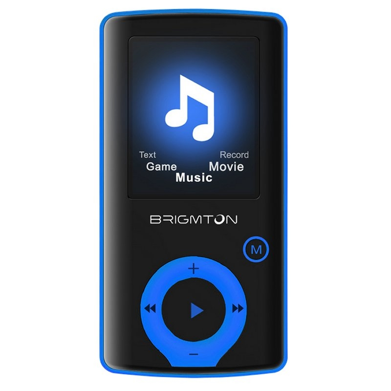 Brigmton Reproductor MP4 BPA-81 8GB Azul