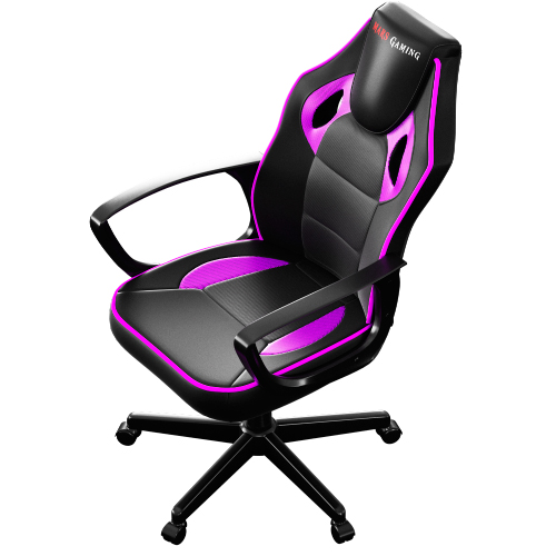 SILLA GAMER MARS GAMING MGC0BBL COLOR NEGRO/ROSA