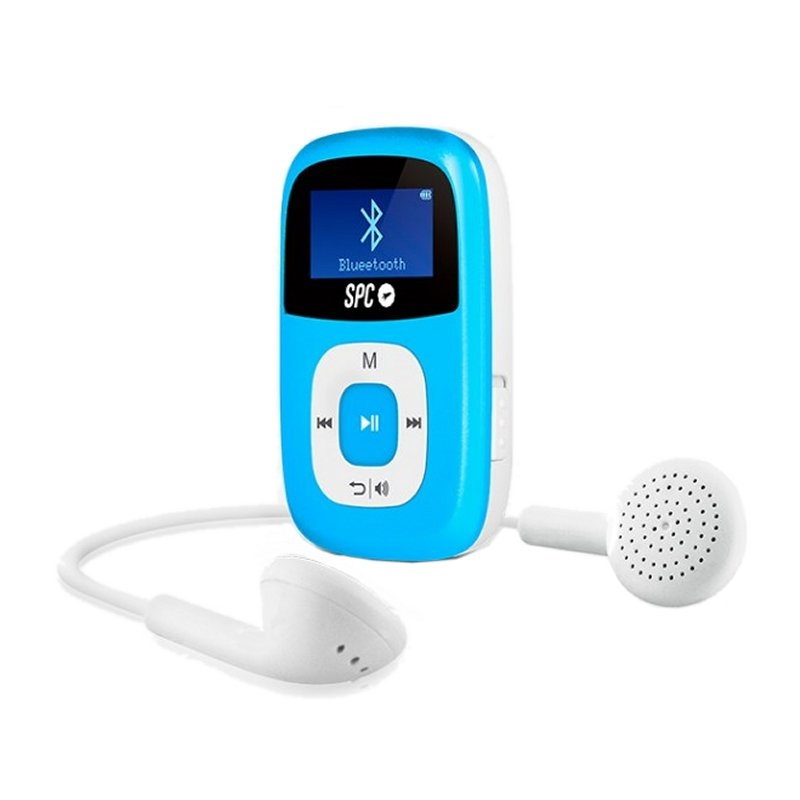 SPC Mp3 8GB Bluetooth FM Pantalla de 1 Azul