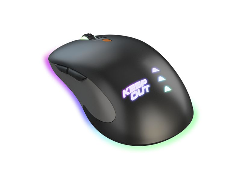 MOUSE GAMING KEEP OUT X5PRO OPTICAL GAMING 4000DPI / 6 BOTONES