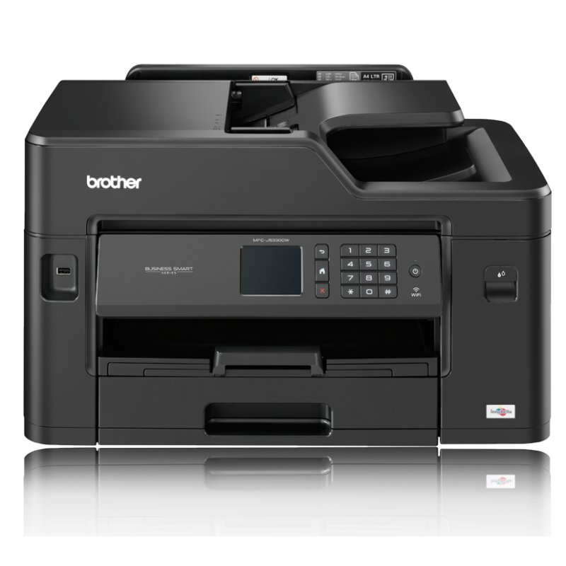 IMPRESORA BROTHER MF INKJET COLOR  MFCJ5330DW A4/A3 FAX WIFI