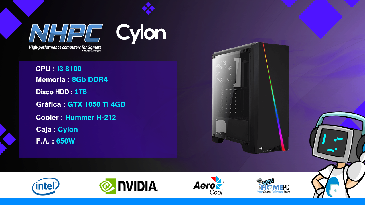 PC Gaming NHPC Cylon