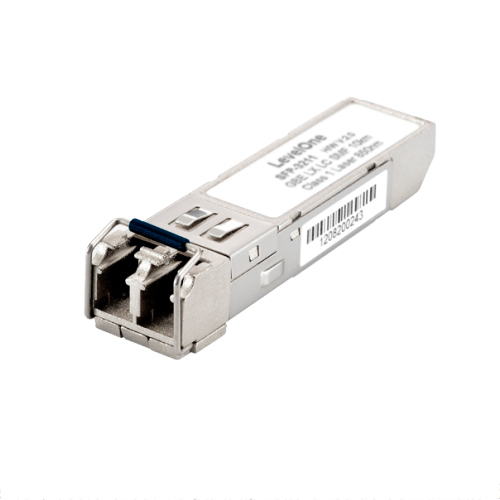 TRANSCEIVER GIGABIT SFP MODULE LEVEL ONE SINGLEMODE 1.25G 1310nm FP-LD 10KM DUPLEX LC