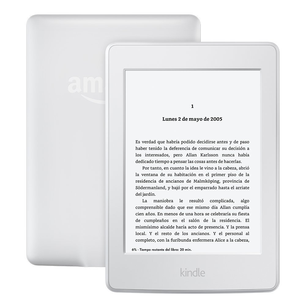 EBOOK KINDLE PAPERWHITE  6  LCD ILUMINADA WIFI BLA