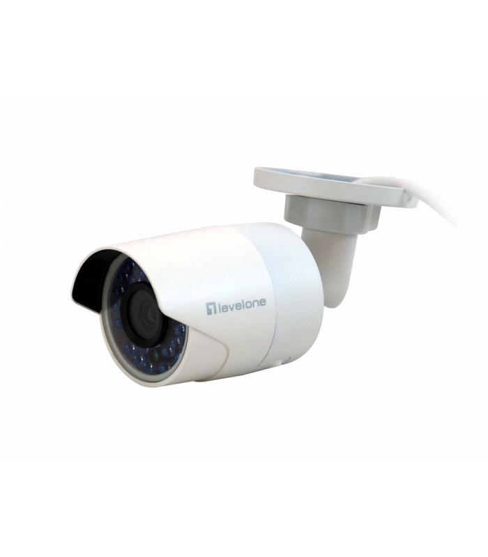 CAMARA IP LEVEL ONE NO WIFI 2 MEGAPIXEL POE EXTERIOR IR LEDS FCS-5058