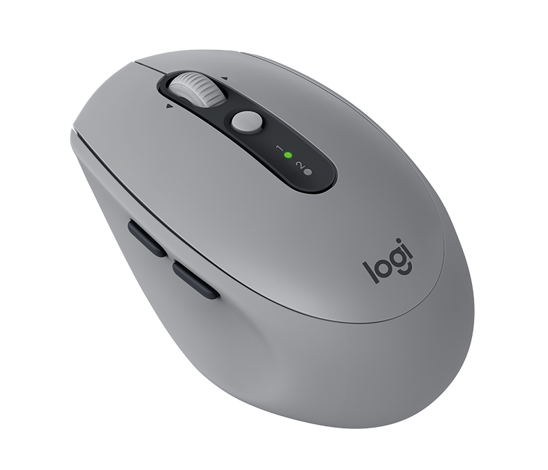 MOUSE LOGITECH M590  WIRELESS  MULTI-DEVICE SILENT COLOR MID GREY TONAL   P/N:910-005198