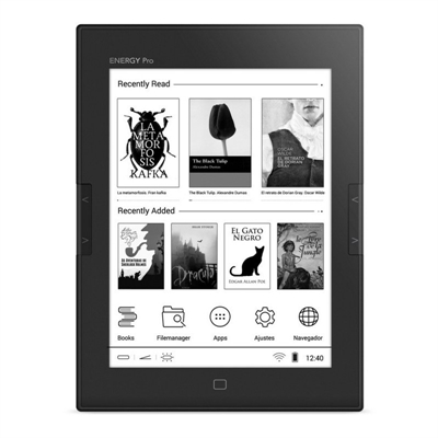 "Energy Sistem ebook eReader Pro HD 6"""" Táctil  Luz"