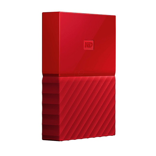HD EXT USB3.0 2.5  4TB WD MY PASSPORT ROJO