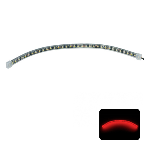 Phobya LED-Flexlight HighDensity 30cm Rojo