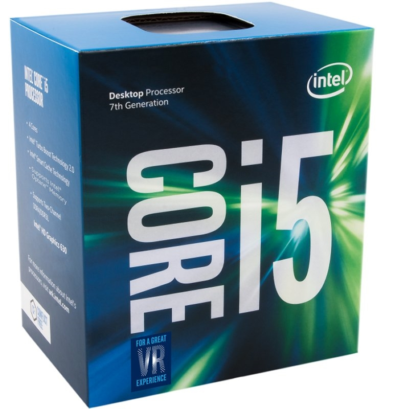MICRO INTEL CORE I5-7400 4X3GHZ LGA1151 KABY LAKE C/VENTILADOR BOX