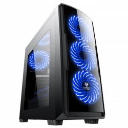 CAJA  ATX SEMITORRE GAMING COOLBOX DEEP STORM BLUE EDITION 1USB3 2USB(Sin Fuente)