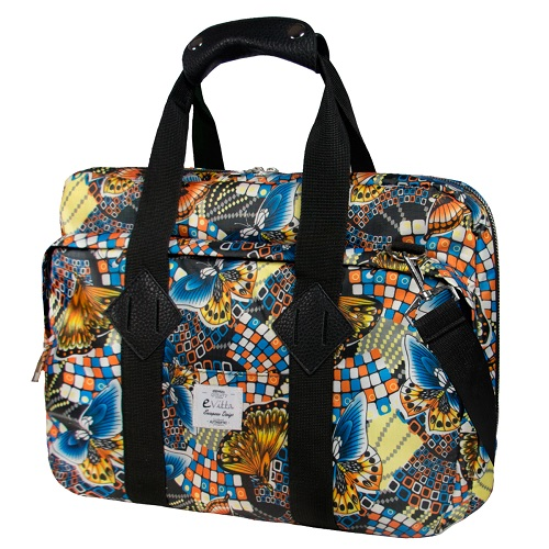 BOLSA PORTATIL  16 EVITTA MESSENGER LAPTOP BAG BUTTERFLIES EVLB000467