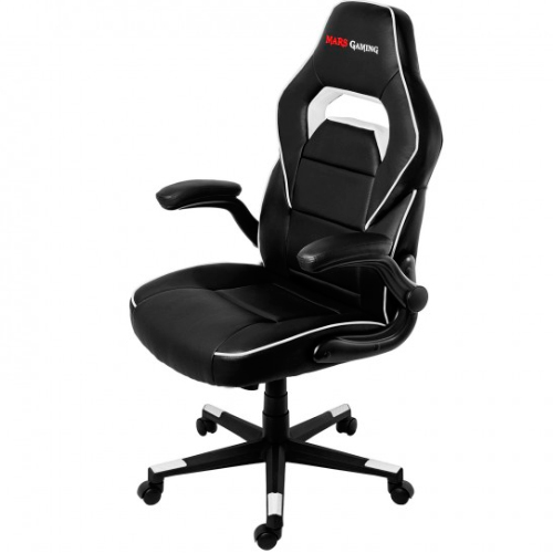 SILLA GAMER  MARS GAMING MGC117BW COLOR NEGRO/BLANCO