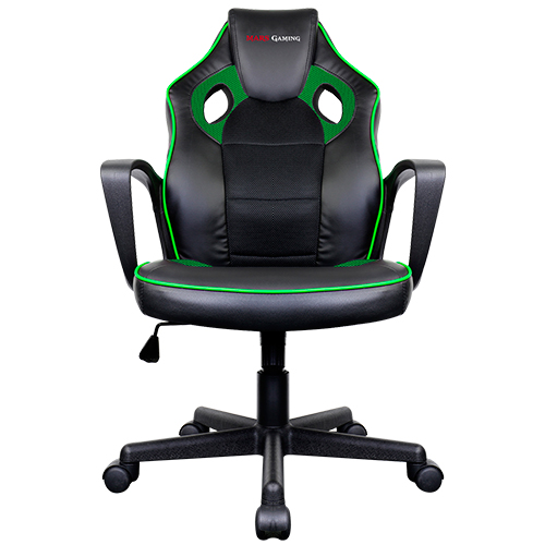 SILLA GAMER MARS GAMING MGC0BBL COLOR NEGRO/VERDE